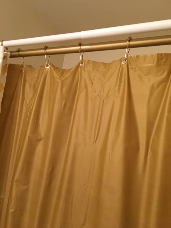 Gold Shower Curtain Hooks