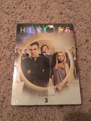 Heroes season 3 DVD for Sale in Orlando, FL