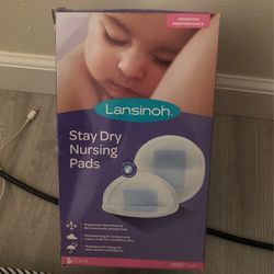 Lansino Stay Dry For Breastfeeding Pads, Washable Nursing Pads Thumbnail