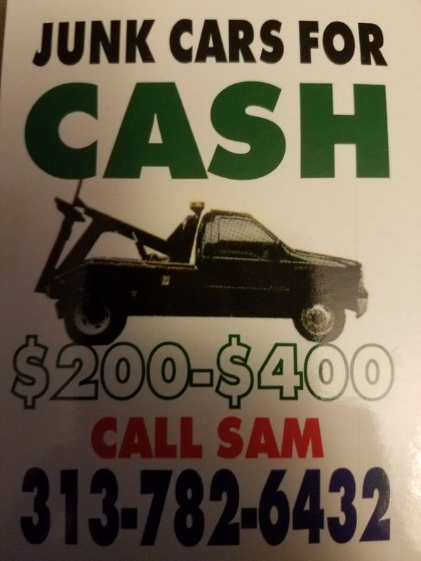 We buy junk cars top dollar paid call now (Cars & Trucks) in Detroit ...