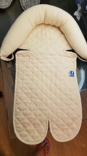 Baby Car seat head pillow, Infant snuzzler/ head and body support for Sale in Germantown, MD
