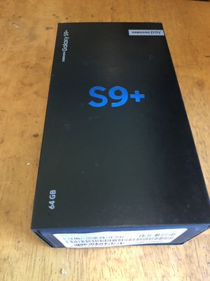 Samsung S9+ for Sale in Washington, DC