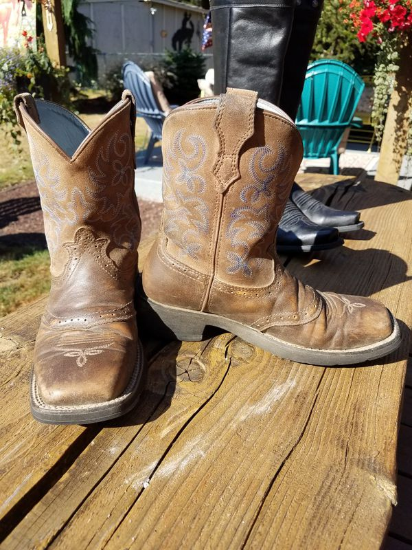 Ariat Fat Baby Cowboy Boots 7b Clothing Shoes In Tacoma Wa