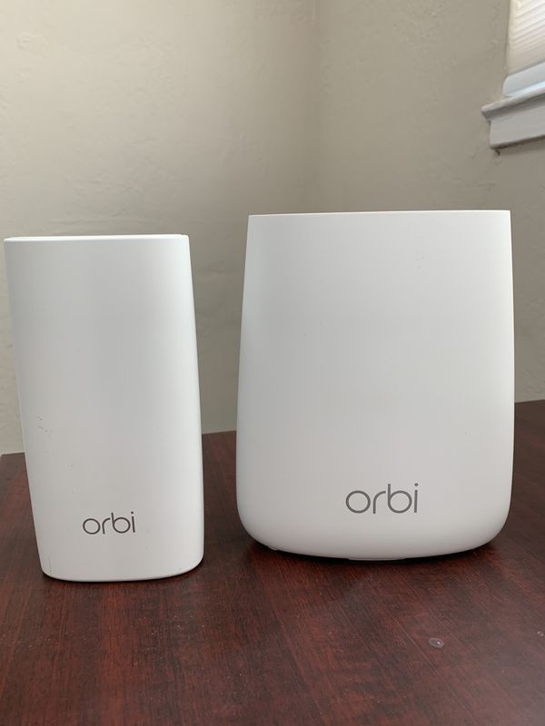 Orbi WiFi Mesh Router - RBR20 with satellite  for Sale in San Jose, CA -  OfferUp