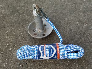 Photo Boat anchor with rope