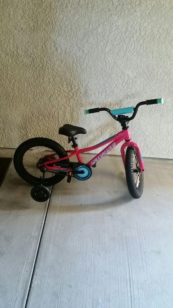 65626bca477 Specialized brand rip rock kids bike with training wheels 12 inch wheels