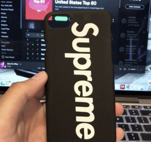 New iPhone 7/8 Supreme Case Black for Sale in Los Angeles, CA