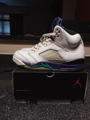2013 air Jordan grape 5 for Sale in Sanford, FL