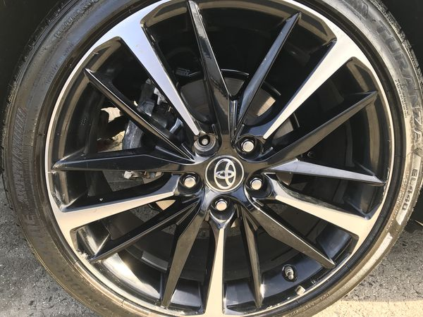 I Have Available Only One 19 Rims Toyota Camry 2018 Xse Oem Wheels With Tires 2017 2016 Rav4 Avalon Chr Us 250