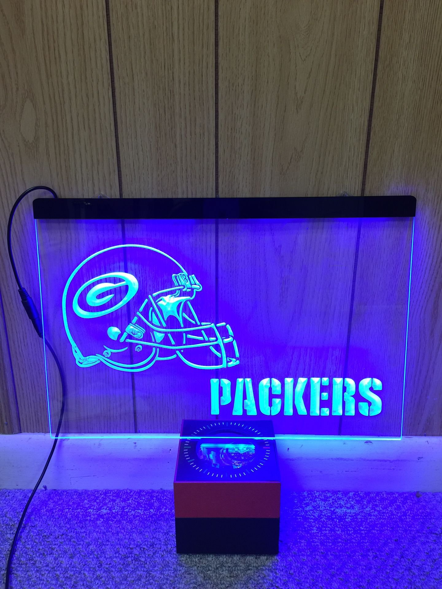 Green Packers LED Neon Light Sign