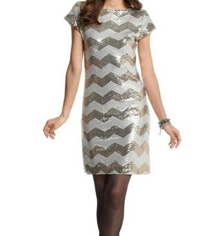Photo White House Black Market Sequin Dress M