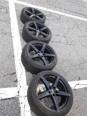 """20"""" Wheels and Tires 245 35 20 for Sale in Reston, VA"""