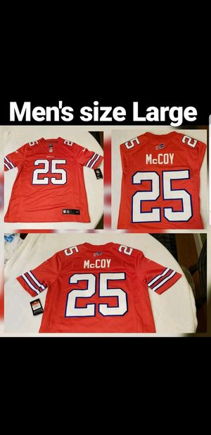 hot sale online f7d1c cf121 (New) Nike Lesean McCoy on field color rush jersey size Large mens. $80 for  Sale in Columbia, SC - OfferUp