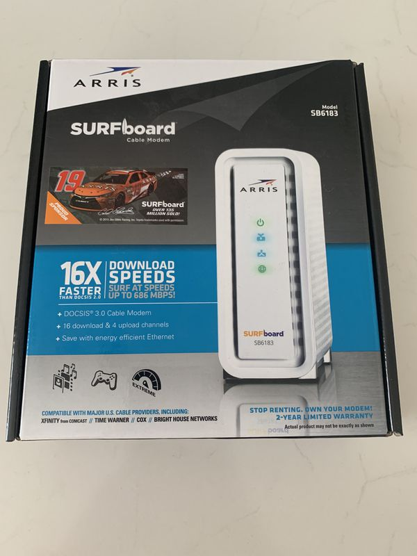 DOCSIS 3 0 Cable Modem - Arris SB6183 for Sale in San Marcos, CA - OfferUp