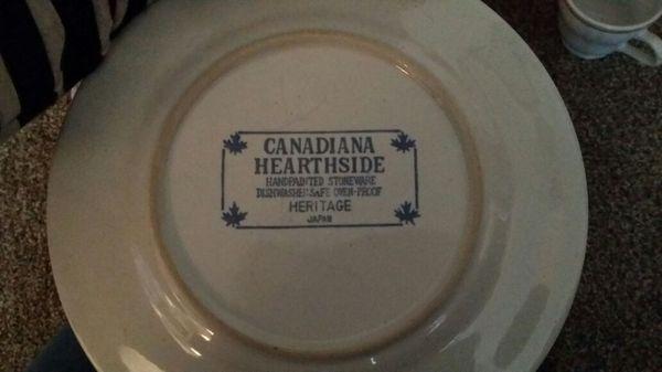 Canadiana hearthside stoneware Japan dish set (Antiques) in Sumner ...