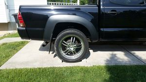 "CHROME RIMS 20"" for TACOMAS for Sale in Rockville, MD"