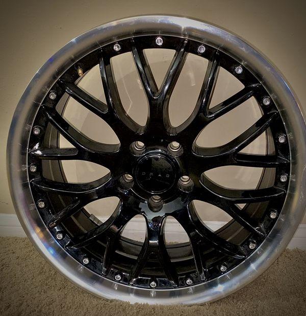 Drag DR-69 Gloss Black Rims For Sale In Guy, TX