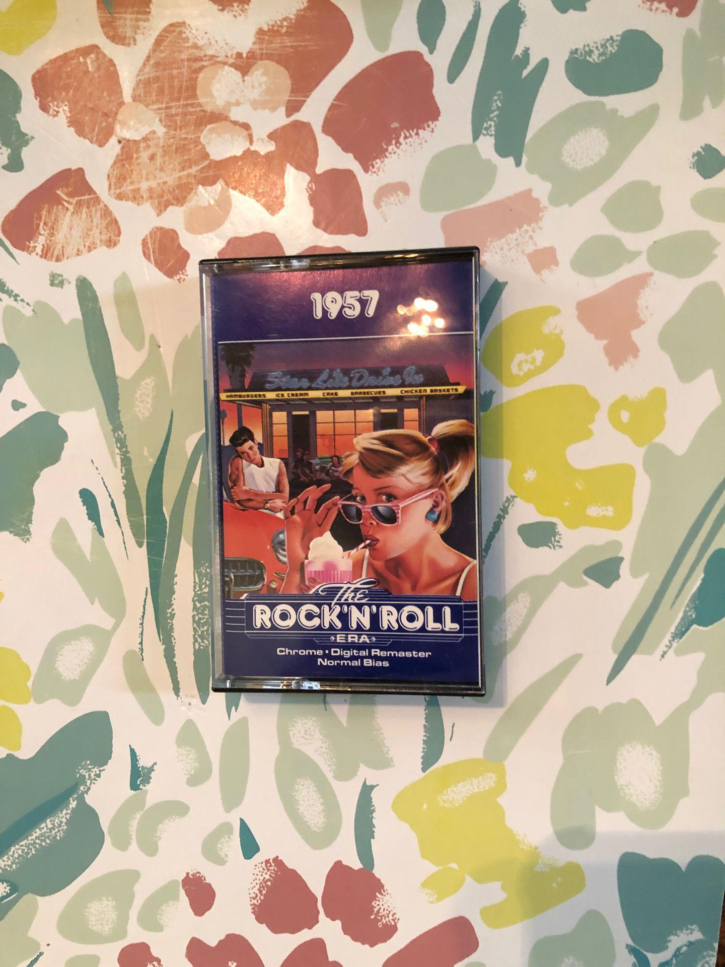 1957 The Rock'N'Roll era cassette tape