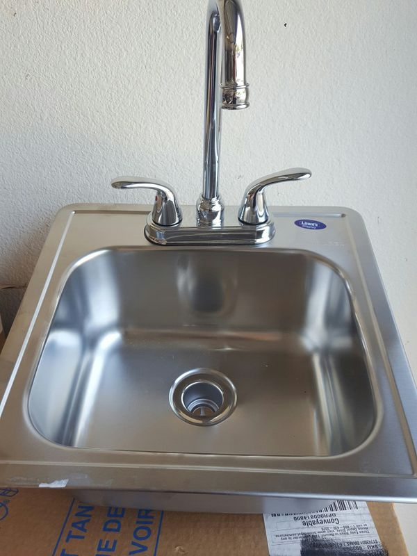Kindred Bar sink and faucet for Sale in Dallas, TX - OfferUp on deep laundry sinks, deep kitchen sinks undermount, undermount farm sink, granite single bowl sink, deep sink faucets, ada compliant sink, elkay single bowl undermount sink, deep single undermount bar sink, deep sinks for kitchen, ada vanity sink, deep basin sink, kohler single bowl sink,