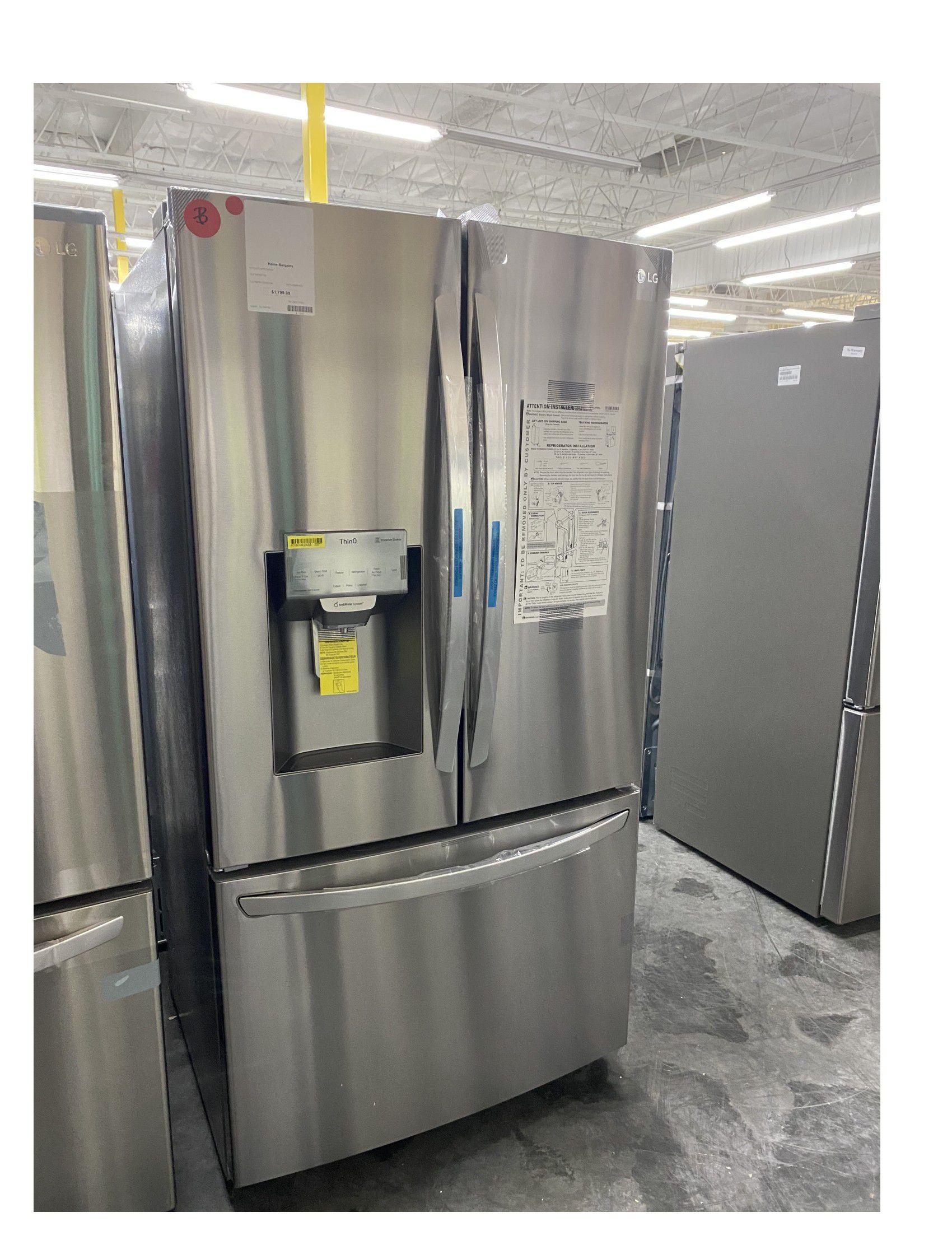 LG French Door Smart Refrigerator in Stainless Steel