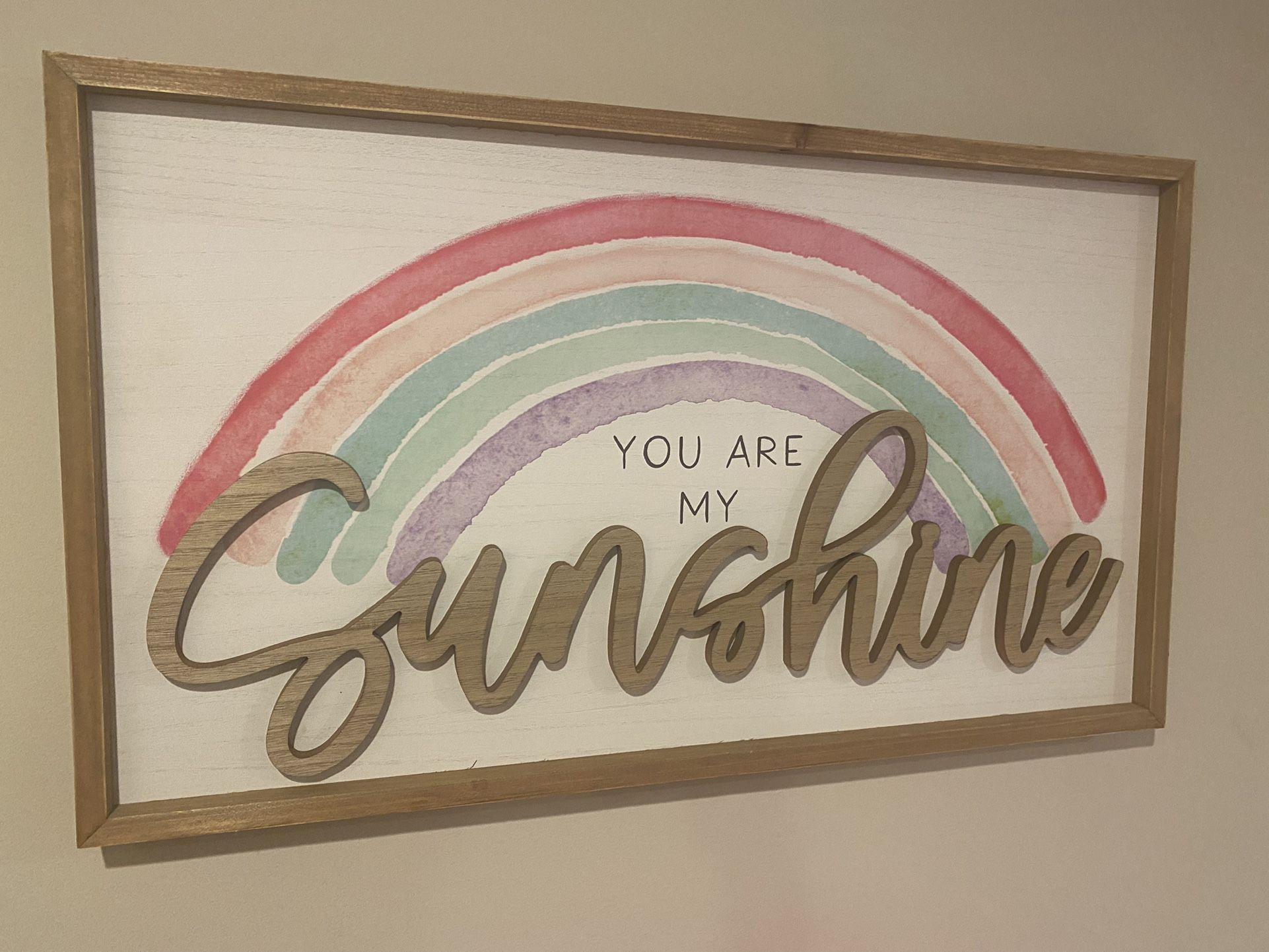 Girls Rainbow Room Decor