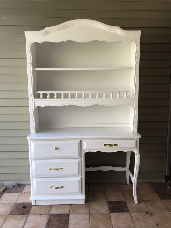 French Provincial Desk Hutch By Henry Link For In Sterling Va Offerup