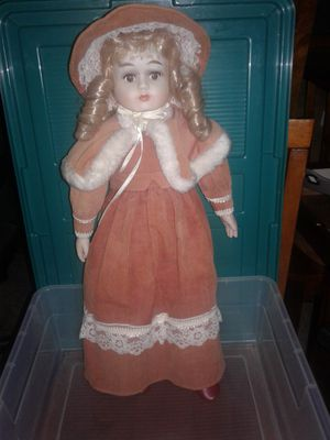 Antique Doll with bonnet, Shaw, shoes and under garments. for Sale in Florence, AL