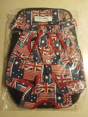 Pet Carrier Size XL GB/USA flag for Sale in Las Vegas, NV