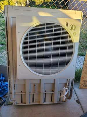 Photo SLIMLINE Swamp Cooler W/Remote Cools1900 sq ft home WORKS GOOD,GREAT Energy Saver5900CFM,Water Filter,Water line,LOTS OF EXTRAS,PD OVER 800