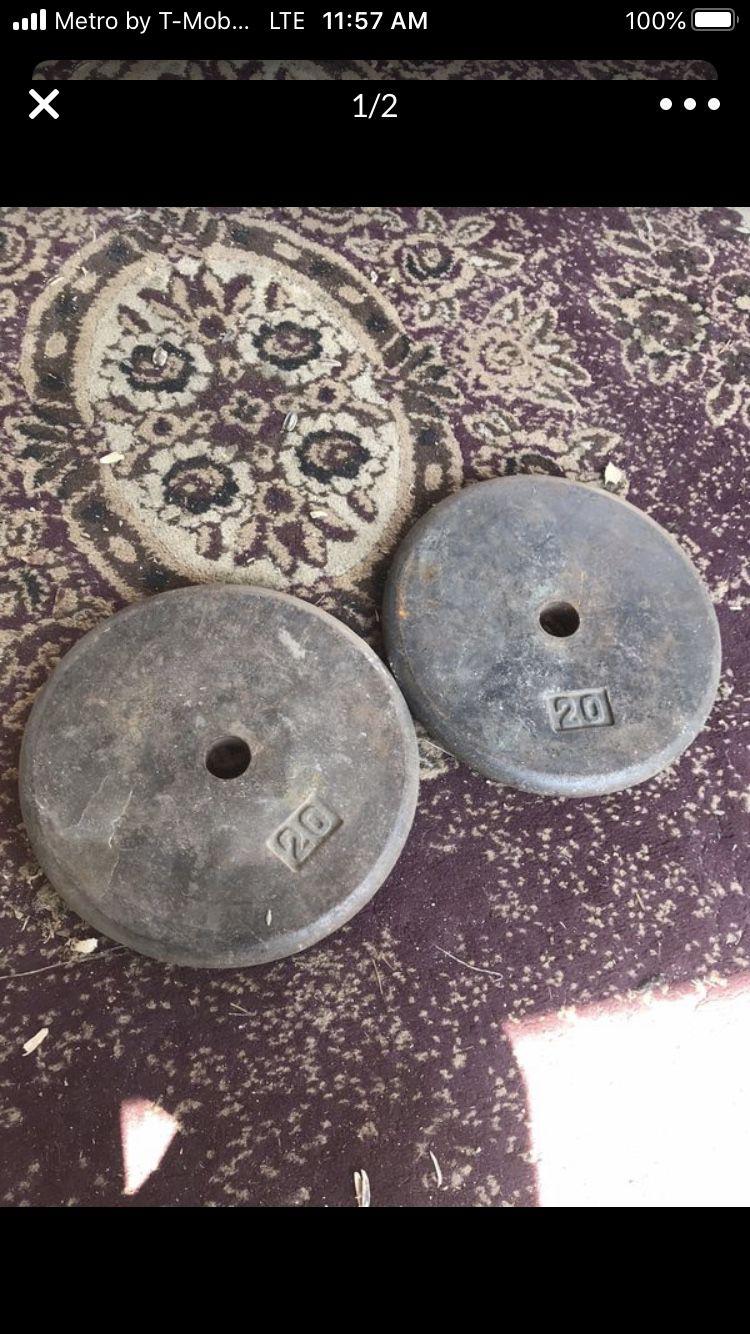 20 Lb Metal weights