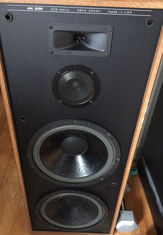 Mtx Aal 2230 Monster Home Stereo Speakers For Sale In