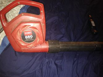 Toro Electric blower Thumbnail