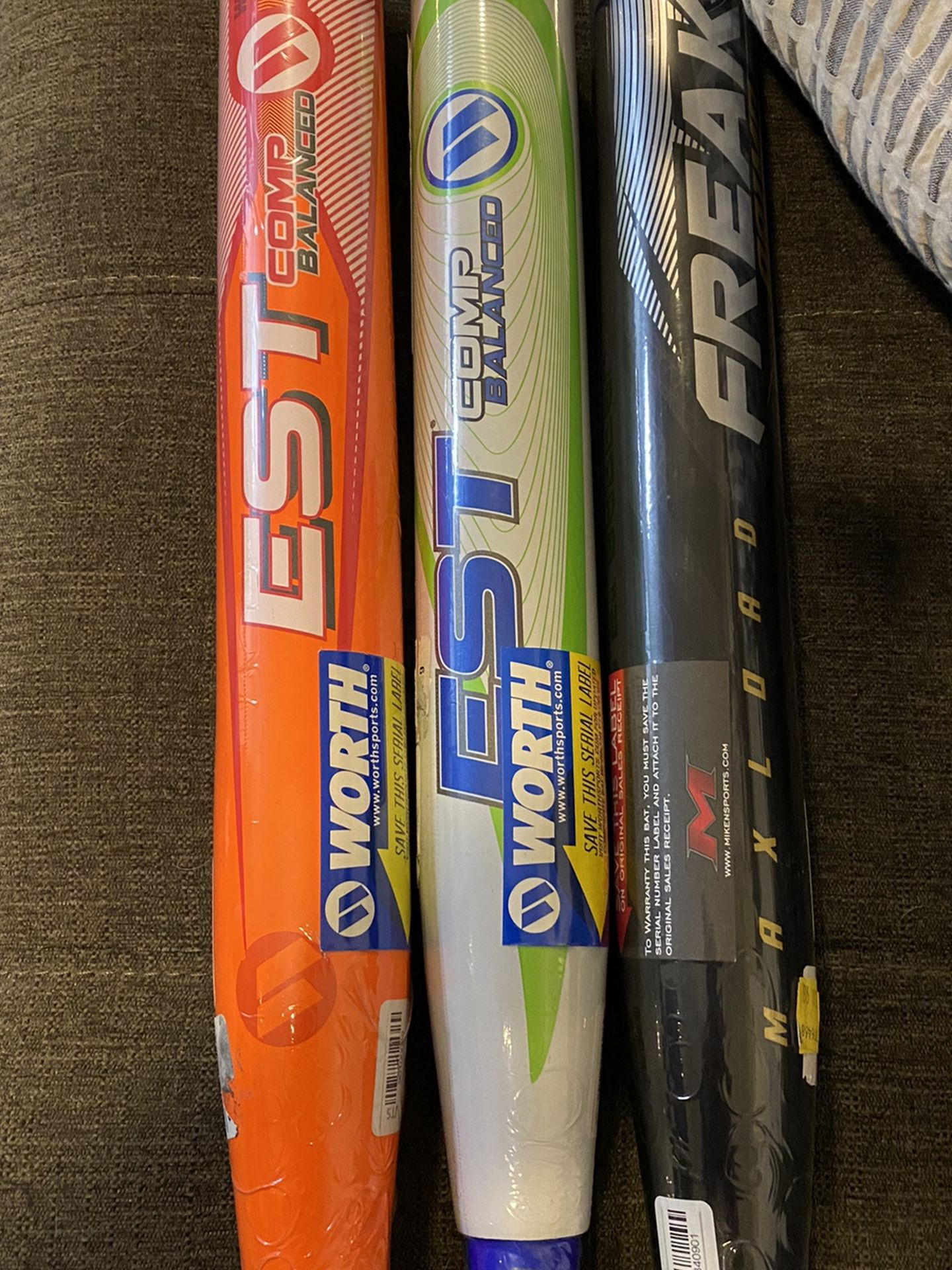 Brand New Softball Bat USSSA NIW Worth Miken