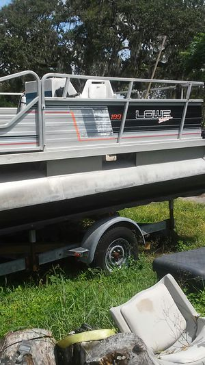 New And Used Pontoon Boats For Sale In Tampa Fl Offerup