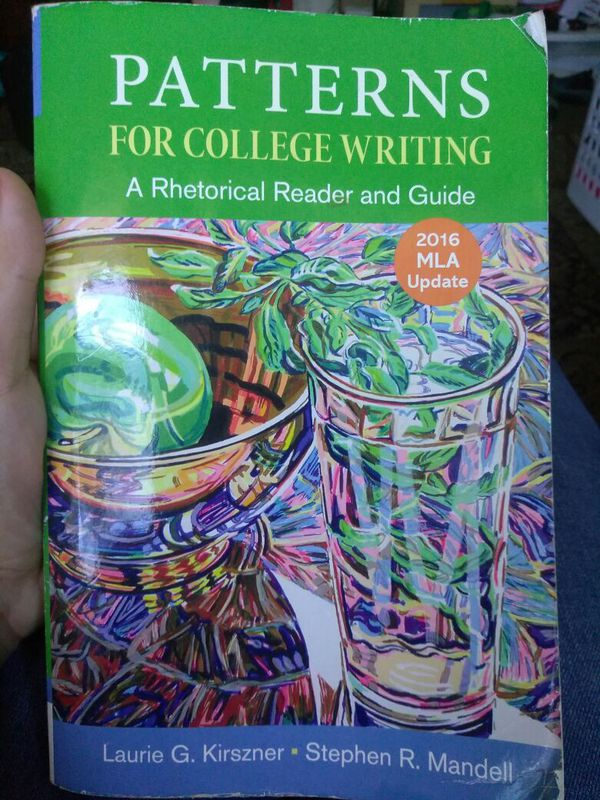 Used Patterns For College Writing Textbook 40th Edition For Sale In New Patterns For College Writing 13th Edition