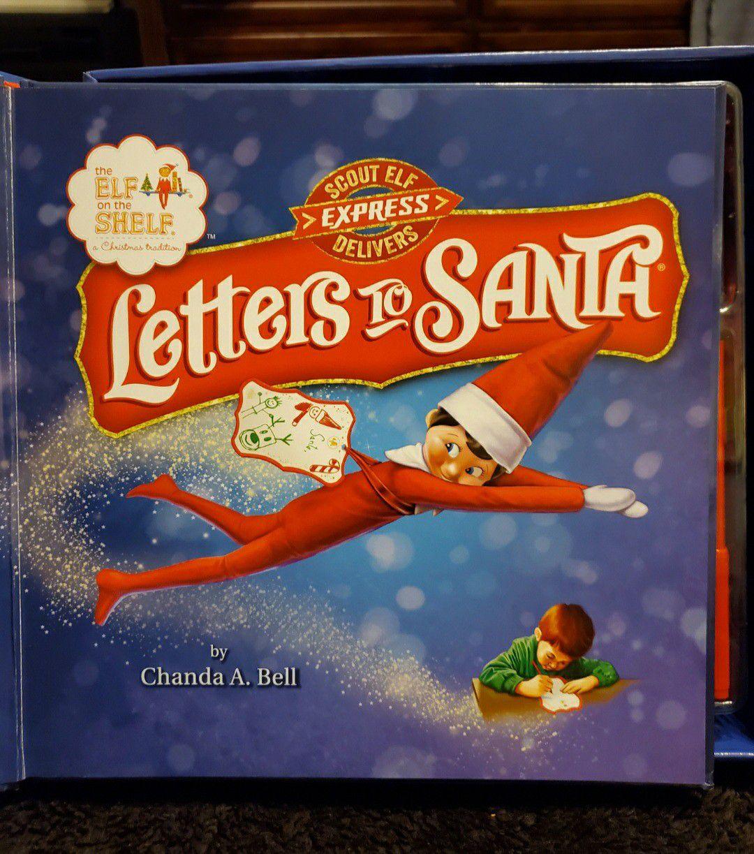 NEW Elf shelf letters to santa