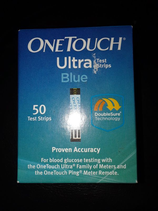Diabetic Test Strips - One Touch Ultra