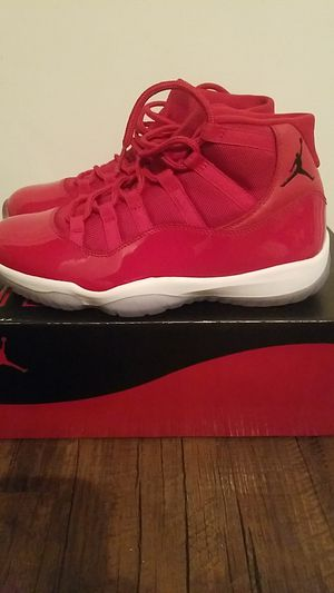 2baff33a621 All Red Air Jordan 11 s 1pair sz11 1 2 Serious people only Please no deals