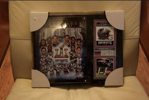 New England Patriots Plaque! for Sale in Rockville, MD