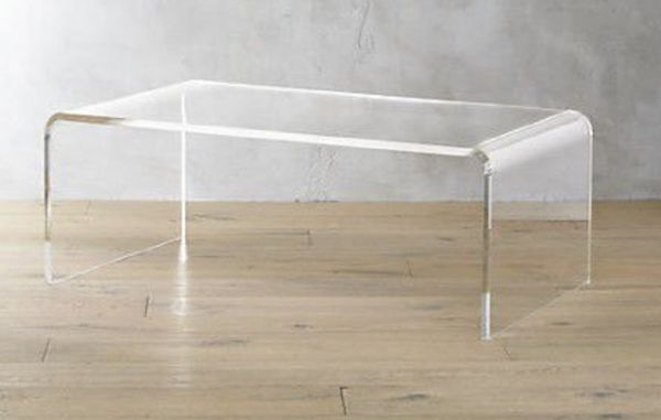 Peekaboo Coffee Table Crate And Barrel Acrylic Cb For Sale In - Cb2 peekaboo coffee table