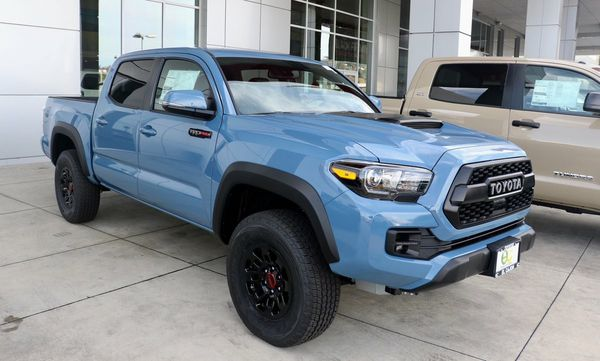 Tacoma Cavalry Blue >> 2018 Cavalry Blue Trd Pro Tacoma for Sale in Temecula, CA - OfferUp