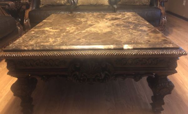 Ashley Furniture North Shore Collection Marble Top Coffee