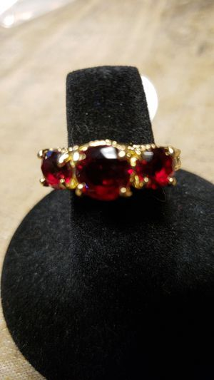 Ruby Emerald 10k yellow gold filled for Sale in Farmville, VA