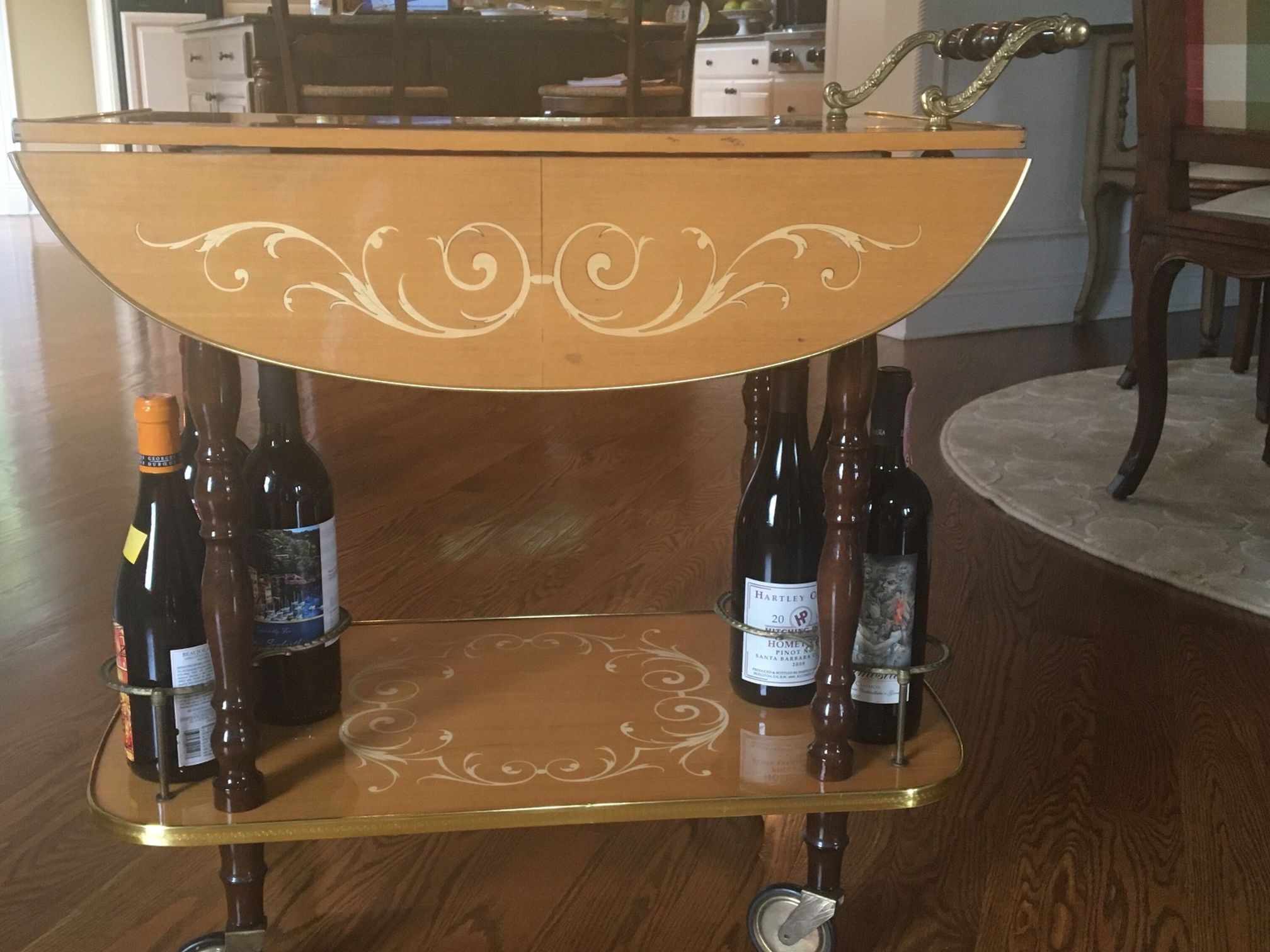 Vintage Wine Cart