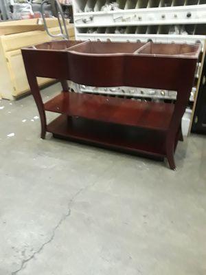 Vanity red mahogany for Sale in Las Vegas, NV