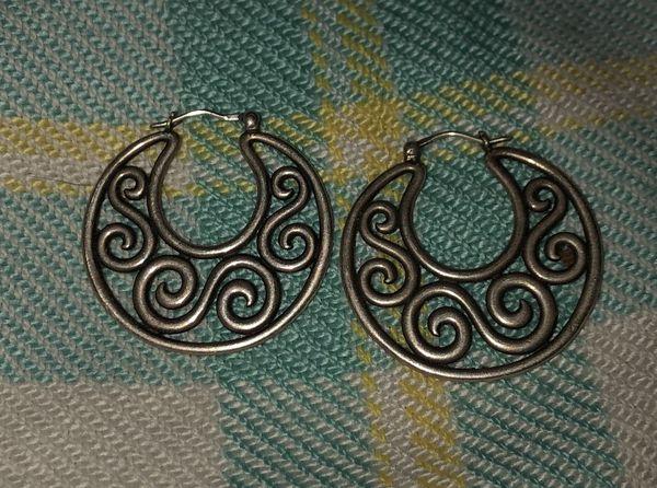 James Avery Retired Open Hoop Earrings For Sale In San Antonio Tx Offerup