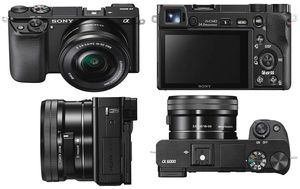 Alpha a6000 Mirrorless Camera With 2 lens 55-210mm lens for Sale in Washington, DC