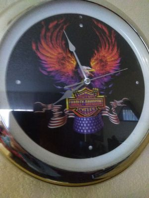 Used, Harley-Davidson wall clock for sale  Tulsa, OK