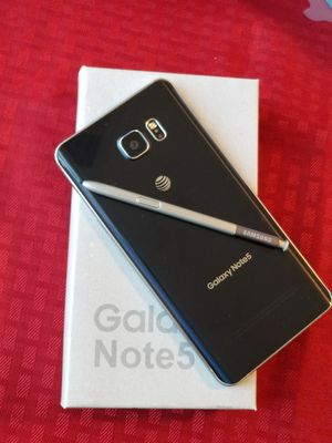 Samsung Galaxy Note 5 Factory Unlocked, Excellent Condition for Sale in Annandale, VA