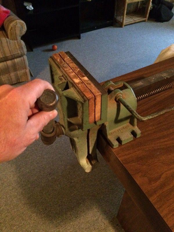 Sheldon Usa Vintage Wood Working Vise For Sale In Roseville